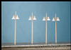 Ratio 454 Concrete Lamps (4 double standard per pack)